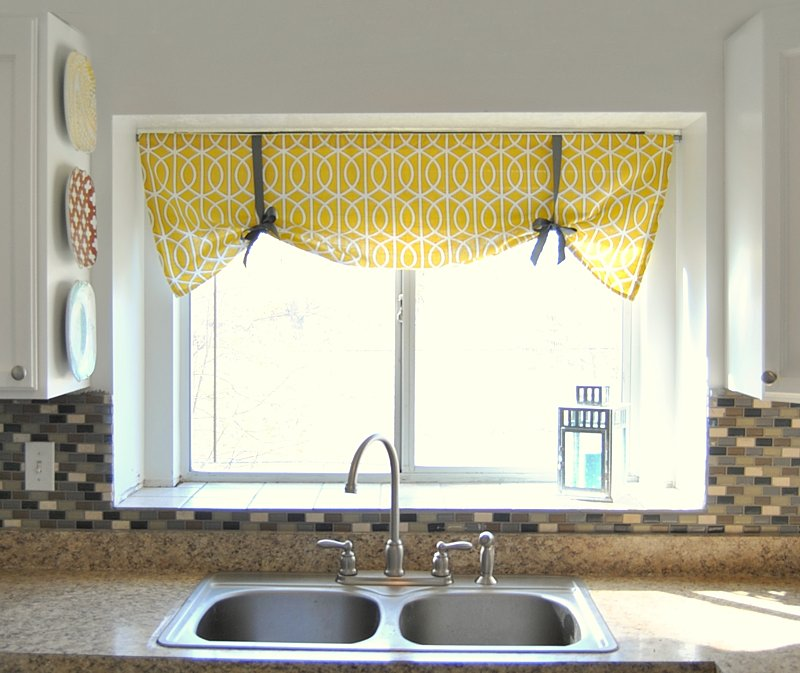 римская штора на кухню своими руками фото