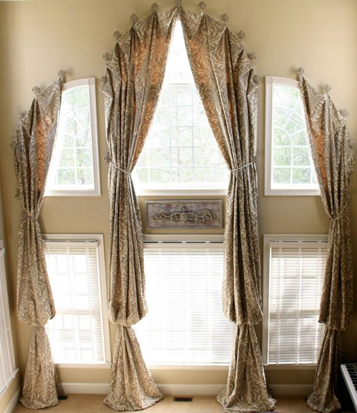 Bath window curtains