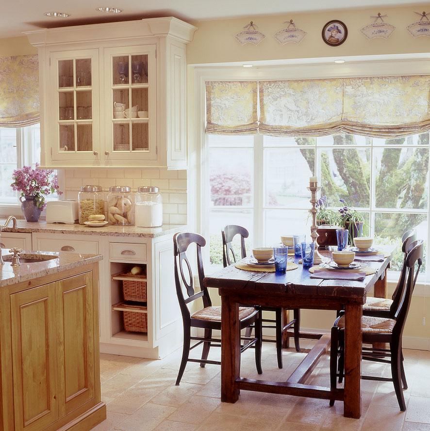 шторы на кухню в стиле прованс картинки да